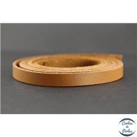 Lanière Cuir Premium - 10 mm - Camel