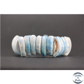 Bracelets en coquillages - Bleu