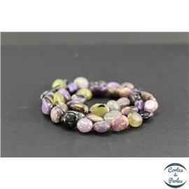 Perles semi précieuses en charoïte - Nuggets/4-12 mm