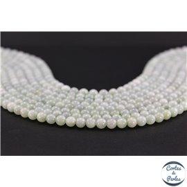 Perles en jadéite - Rondes/6mm