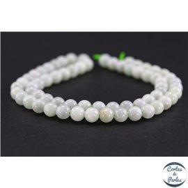 Perles en jade de Birmanie - Rondes/6mm