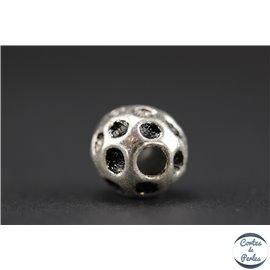 Apprêts american finding boules vernies - Rondes/12 mm - Argenté