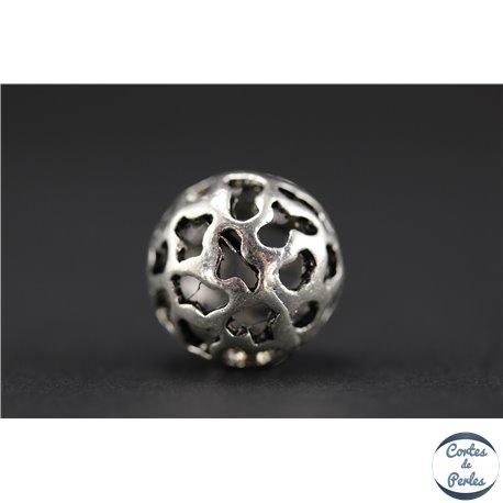 Apprêts american finding boules vernies - Rondes/14 mm - Argenté