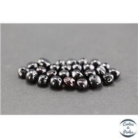 Perles en ambre de la Baltique - Baroque/7 mm - Cerise