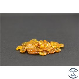 Perles en ambre de la Baltique - Chips/5-10 mm - Miel
