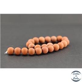 Perles en redstone - Rondes/8mm - Grade A