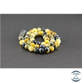 Perles en oeil de tigre - Rondes/8mm - Grade A
