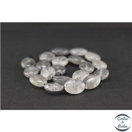 Perles en quartz nuage - Ovales/20mm