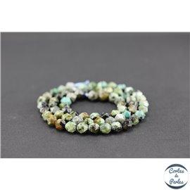 Perles semi précieuses en jaspe impérial - Pépite/5,5 mm