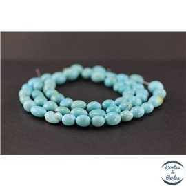 Perles en turquoise Kingman d'Arizona - Nuggets/10mm