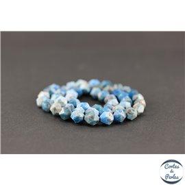 Perles semi précieuses en apatite - Pépite/8 mm