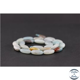 Perles en amazonite - Ovales/16mm