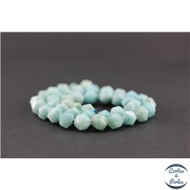 Perles en amazonite - Pépites/10mm