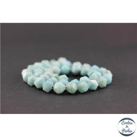 Perles semi précieuses en amazonite - Pépite/10 mm