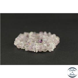 Perles semi précieuses en kunzite - Chips/9 mm - Grade AA