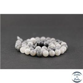 Perles en oeil d'aigle - Rondes/8mm - Grade AB