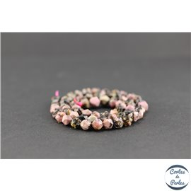Perles en rhodonite - Pépites/6mm