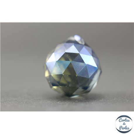Lot de 3 pendentifs en cristal - Gouttes/21 mm - Dark Saphir