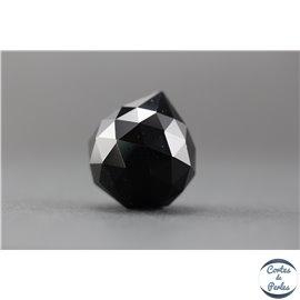 Lot de 3 pendentifs en cristal - Gouttes/21 mm - Noir