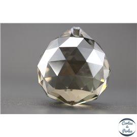 Lot de 3 pendentifs en cristal - Gouttes/31 mm - Copper AB