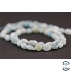 Perles en amazonite - Nuggets/5-10mm