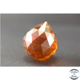 Lot de 3 pendentifs en cristal - Gouttes/31 mm - Red topaze