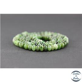 Perles en jade néphrite du Canada - Roue/6 mm