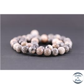 Perles en jaspe rose - Rondes/8.5mm