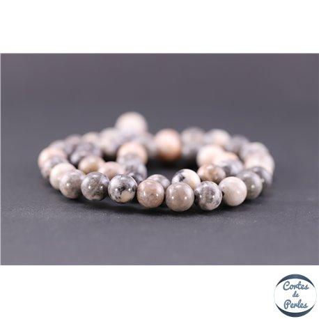 Perles en jaspe rose - Ronde/8,5 mm