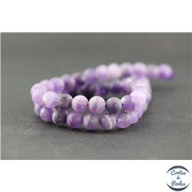 Perles en Cristal de Roche