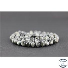 Perles en oeil d'aigle - Rondes/6mm - Grade A