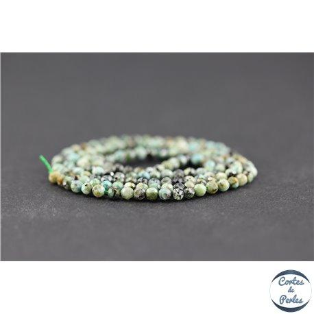 Perles facettées en jaspe impérial - Rondes/3 mm