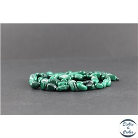 Perles en malachite - Nuggets/9-13 mm