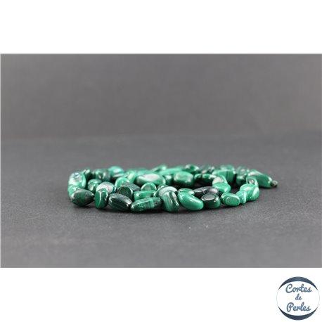 Perles en malachite - Nuggets/9-13 mm