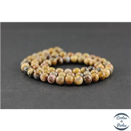 Perles en jaspe Vénus - Rondes/6 mm