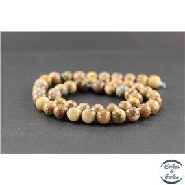 Perles en jaspe Vénus - Rondes/8 mm