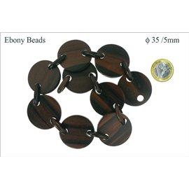 Perles en ébène - Disques/35 mm