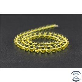 Perles en ambre citron de la Baltique - Rondes/6mm - Grade A