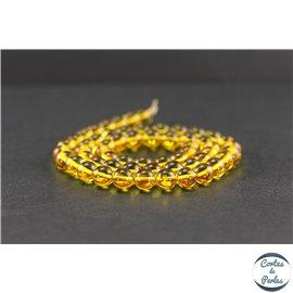 Perles en ambre citron de la Baltique - Rondes/7mm - Grade A