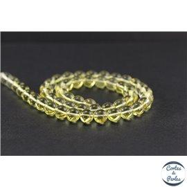 Perles en ambre citron de la Baltique - Rondes/8mm - Grade A