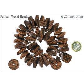 Perles en patikan - Roues/25 mm