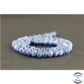 Perles en cyanite du Brésil - Rondes/4mm - Grade AB