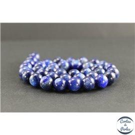 Perles en cyanite du Brésil - Rondes/10 mm - Grade A