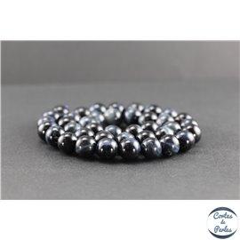 Perles en oeil de faucon - Rondes/10mm - Grade A