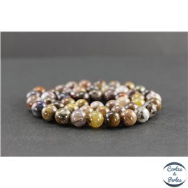 Perles en pietersite de Chine - Rondes/8mm - Grade AB