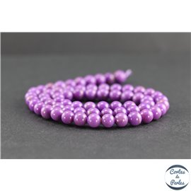 Perles en phosphosidérite du Chili - Rondes/6mm - Grade AB