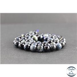 Perles en oeil de faucon - Rondes/8mm - Grade A