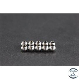 Apprêts boules métal - Rondes/5mm