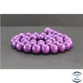 Perles en phosphosidérite du Chili - Rondes/10mm - Grade AB