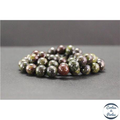 Perles en jaspe dragon - Rondes/8mm